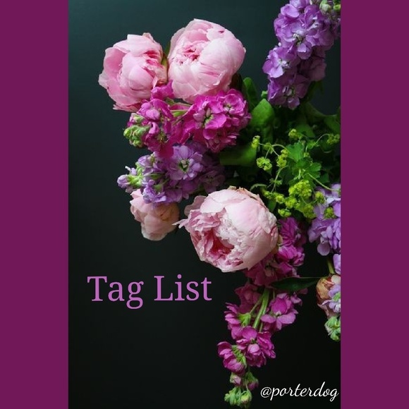 TAG LIST COMMENT